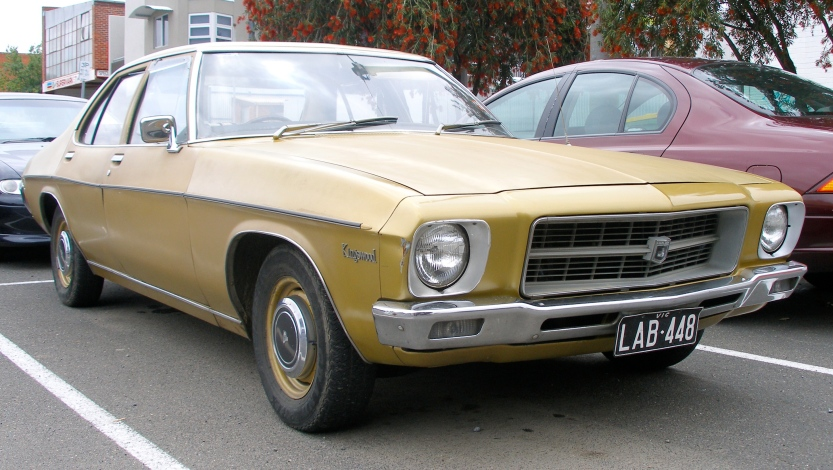 1972 Kingswood HQ stationwagon